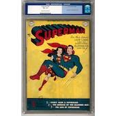 Superman #57 CGC 7.5 (C-OW) *0033262007*