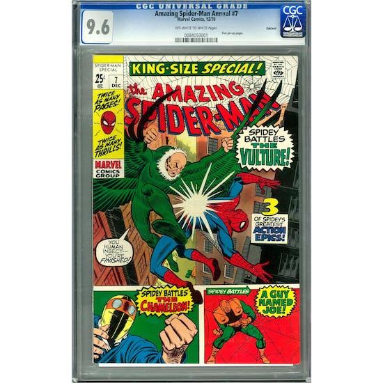 Amazing Spider-Man Annual #7 CGC 9.6 Oakland Pedigree (OW-W) *0084093001*