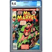 Ms. Marvel #1 CGC 9.4 (W) *0286467010*