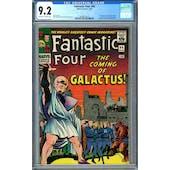 Fantastic Four #48 CGC 9.2 (OW-W) *0296679014*