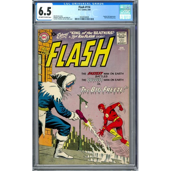 Flash #114 CGC 6.5 (OW-W) *0334554009*
