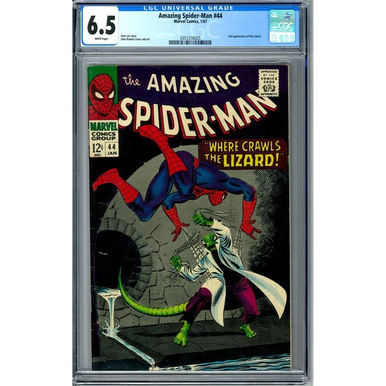 Amazing Spider-Man #44 CGC 6.5 (W) *0357216025*