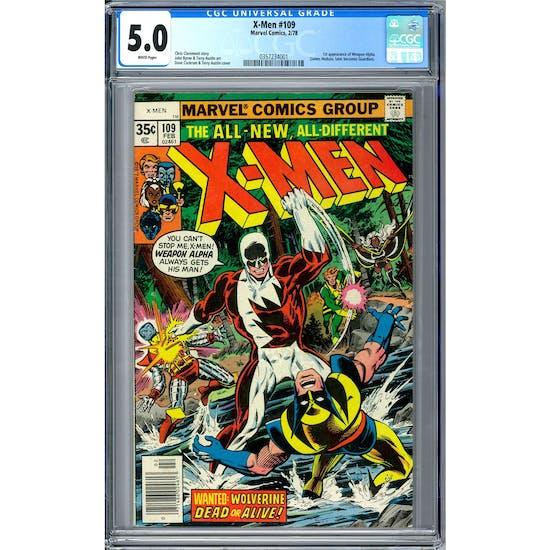 X-Men #109 CGC 5.0 (W) *0357234001*