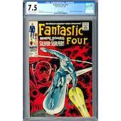 Fantastic Four #72 CGC 7.5 (OW-W) *0359346001*