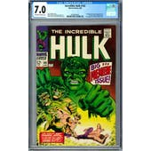 Incredible Hulk #102 CGC 7.0 (OW-W) *0359346005*