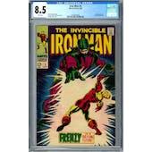 Iron Man #5 CGC 8.5 (W) *0359346008*