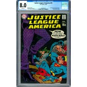 Justice League of America #75 CGC 8.0 (W) *0359346015*