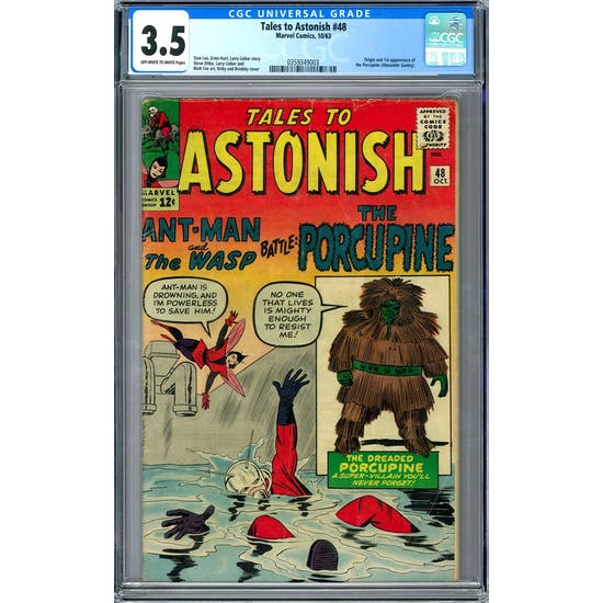 Tales to Astonish #48 CGC 3.5 (OW-W) *0359349003*