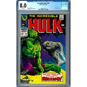 Incredible Hulk #104 CGC 8.0 (W) *0361371014*