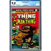 Marvel Two-In-One #1 CGC 9.0 (W) *0361371021*