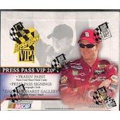2004 Press Pass VIP Racing Hobby Box
