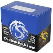 BCW Tandem Deck Case - Blue