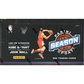 2010/11 Panini Season Update Basketball Hobby Box