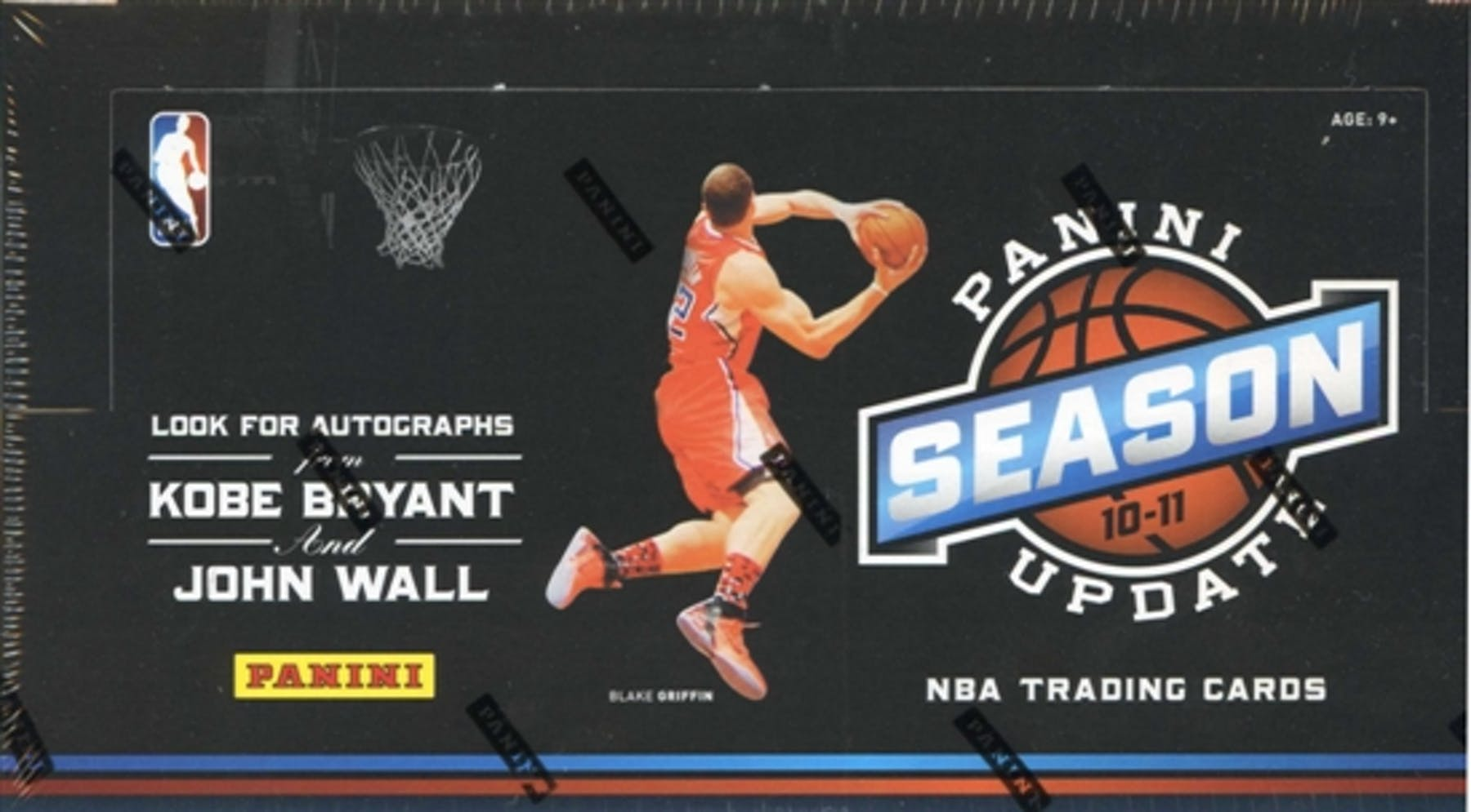 52f234e4ca9 2010 11 Panini Season Update Basketball Hobby Box