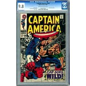 Captain America #106 CGC 9.8 (OW-W) *1023207010*