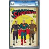 Superman #12 CGC 6.5 (OW) *1075711002*