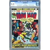 Iron Man #55 CGC 8.0 (W) *1110916004*