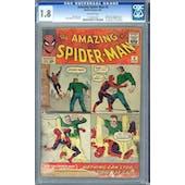 Amazing Spider-Man #4 CGC 1.8 *1111827001*