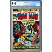 Iron Man #55 CGC 9.0 (W) *1272488003*