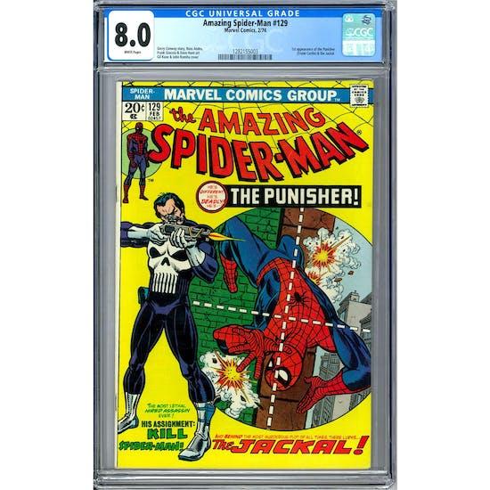 Amazing Spider-Man #129 CGC 8.0 (W) *1282155003*