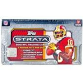 2012 Topps Strata Football Hobby Box
