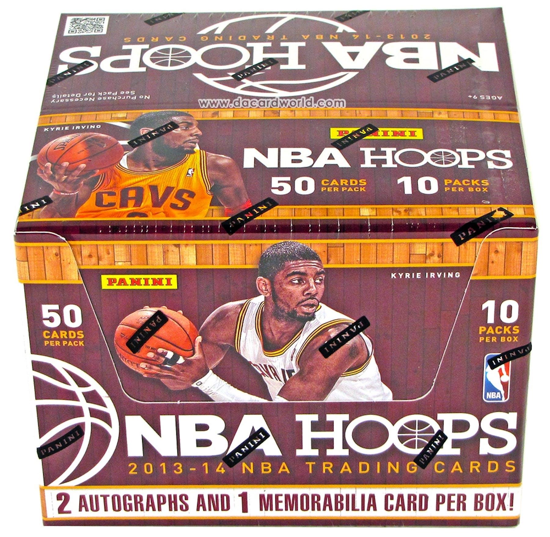 2eed358dd86 2013 14 Panini NBA Hoops Basketball Jumbo Box