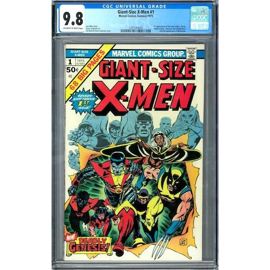 Giant-Size X-Men #1 CGC 9.8 (OW-W) *1397544005*