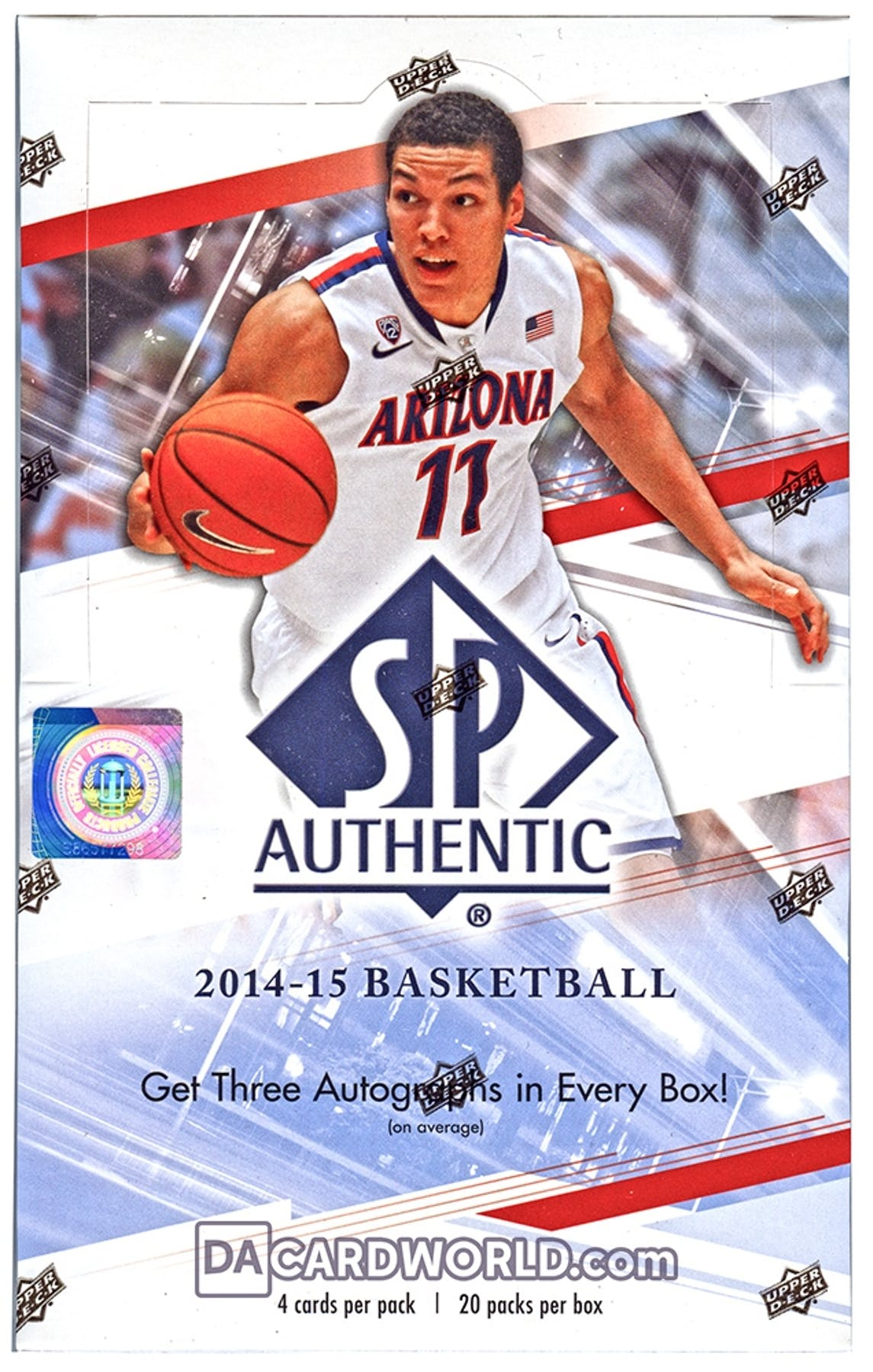 2014 15 Upper Deck SP Authentic Basketball Hobby 12-Box Case - DACW Live 30  Spot Random Team Break  2 89bce039c