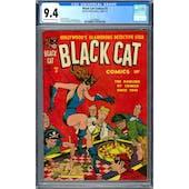 Black Cat Comics #3 CGC 9.4 (C-OW) *1447688007*