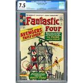 Fantastic Four #26 CGC 7.5 (C-OW) *1447688013*