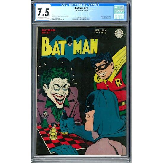 Batman #23 CGC 7.5 (OW-W) *1473027004*