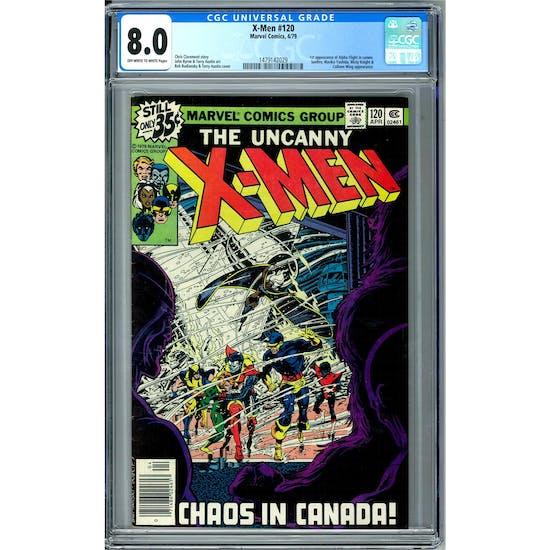 X-Men #120 CGC 8.0 (W) *1479142029*