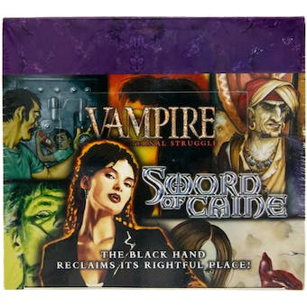 Vampire the Eternal Struggle: Sword of Caine Booster Box (White Wolf)