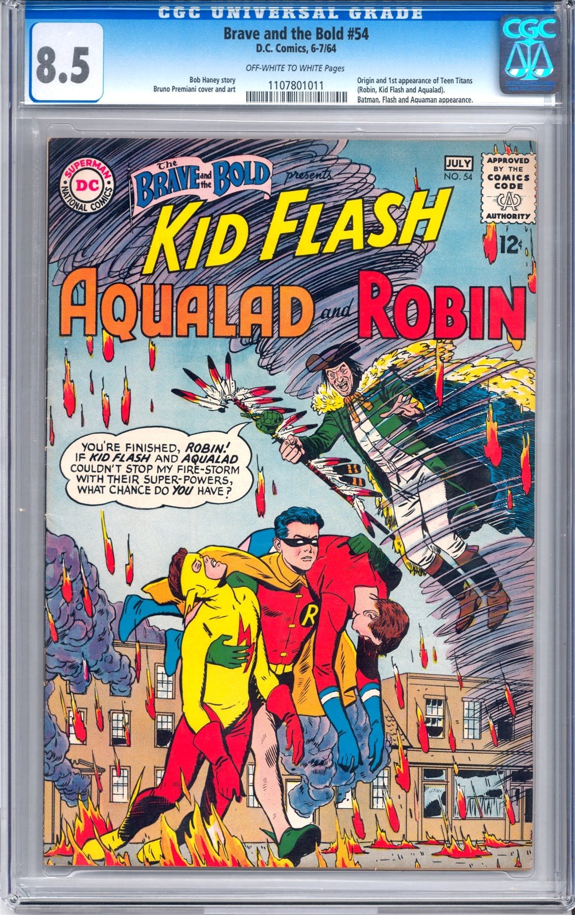 Brave And The Bold 54 CGC 85 OW W 1107801011