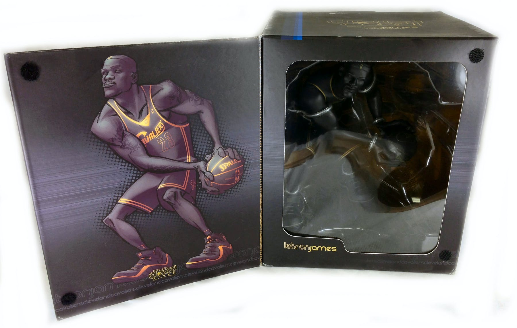 Upper Deck All Star Vinyl LeBron James Collectable Vinyl Figure  250 ... 9feb69137