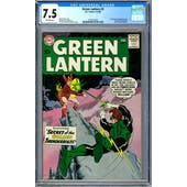 Green Lantern #2 CGC 7.5 (OW) *1570327004*