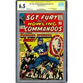 Sgt. Fury and His Howling Commandos #13 CGC 6.5 Stan Lee Signature Series (OW) *1601292013*