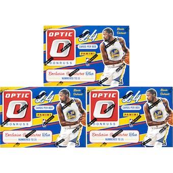 2016/17 Panini Donruss Optic Basketball 6-Pack Blaster Box (Lot of 3)