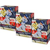 2017 Panini Chronicles Baseball 4-Pack Blaster Box (Lot of 3)