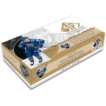 2018/19 Upper Deck SP Authentic Hockey 8-Box Case- DACW Live 31 Team Random Break #6