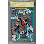 Amazing Spider-Man #344 CBCS 9.6 (W) Signature Series *18-309BF4D-018*