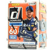 2018 Panini Donruss Racing 6-Pack Blaster Box (Lot of 3)