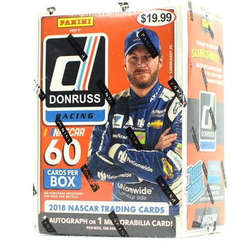 2018 Panini Donruss Racing 6-Pack Blaster Box (Lot of 3)