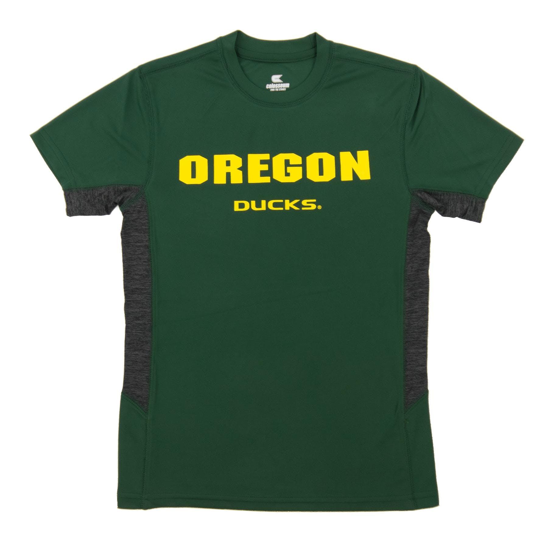 6514f3839992 Oregon Ducks Colosseum Green Youth Performance Ultra Tee Shirt