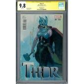 Thor #1 CGC 9.8 Esad Ribic Variant Signature Series (W) *1958998012*
