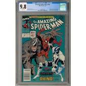 Amazing Spider-Man #344 CGC 9.8 (W) Newsstand Edition *1994812010*