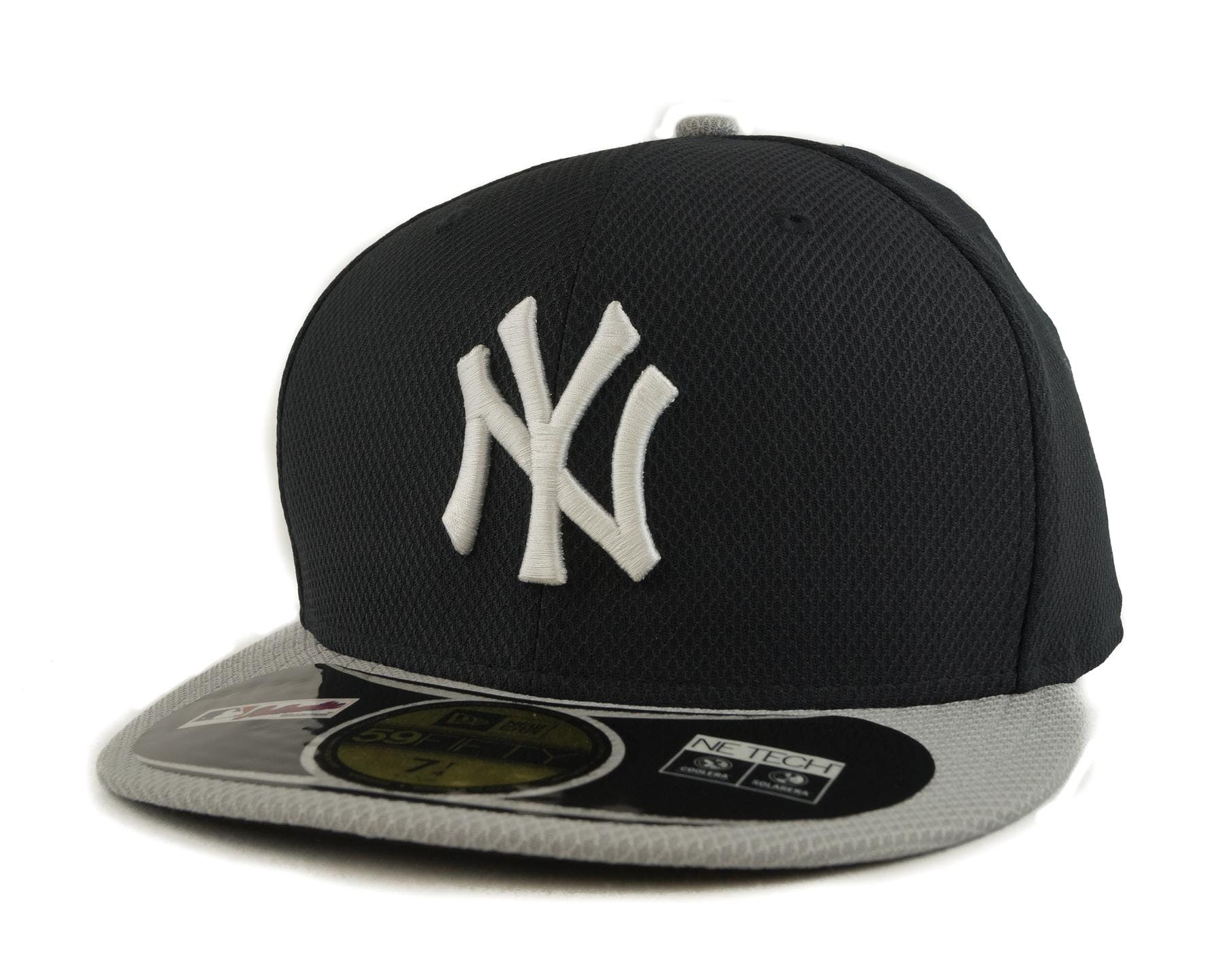 9271b44546b05 New York Yankees New Era Diamond Era 59Fifty Fitted Navy   Gray Hat ...