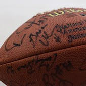 2000 NFL Draft Autographed Football with 29 Signatures PSA/DNA Shaun Alexander-Brian Urlacher