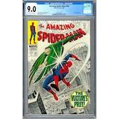 Amazing Spider-Man #64 CGC 9.0 (OW-W) *2006094005*