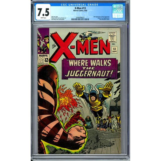 X-Men #13 CGC 7.5 (W) *2006094023*